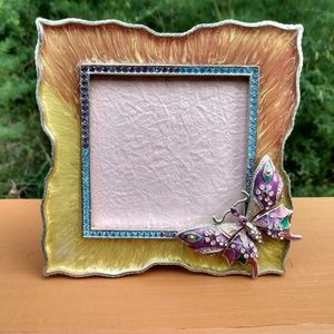 Sparkly Butterfly Picture Frame